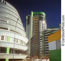 Modern condominium.