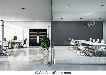 Modern conference interior