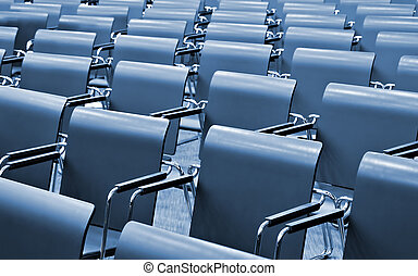 Modern Congress hall - Chairs in Modern Congress hall
