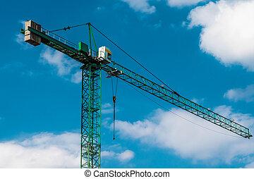 Modern Construction Cranes
