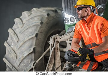 Modern Construction Operator