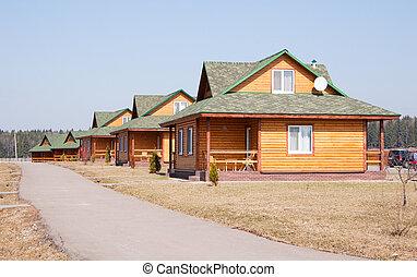 Modern cottage - Modern wooden cottage. The convenient,...