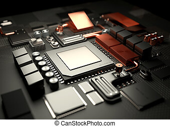 Modern CPU and Motherboard