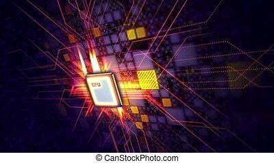 """""""Modern CPU conveys power signal"""" - """"An advanced 3d..."""