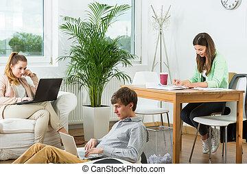 Modern creative workplace