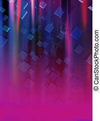 modern cubes and stripes background