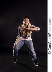 Modern dance. Hip-hop.