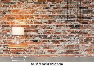 Modern decor of room