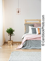 Modern decoration in bedroom