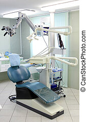 modern dentist chair hospital room orthodontic
