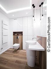Modern design bathroom - Image of modern design bathroom...