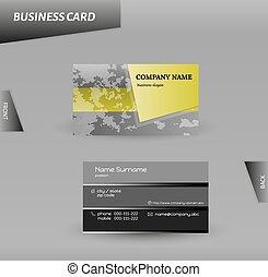 modern design business card vector