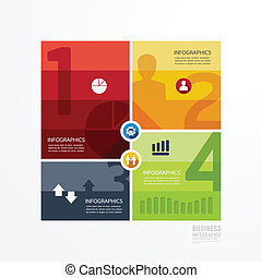 Modern Design infographic template. can be used for infographics