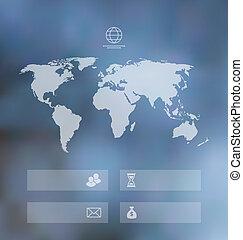 Modern design infographics element template