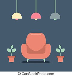 Modern Design Interior Sofa.