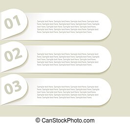 Modern design minimal style infographic template. In a...