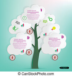 Minimal style infographic template - Modern Design Minimal ...