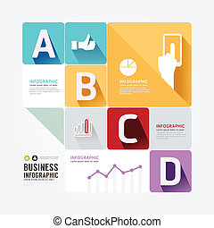 Modern Design Minimal style infographic template.can be used for