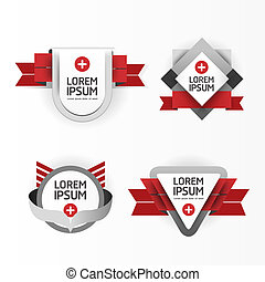 Modern Design modern Labels / can be used for infographics / numbered banners / graphic or website layout vector/Horizontal