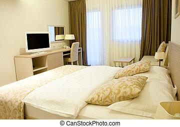 Modern design of a bedroom