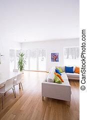 Modern design of lounge