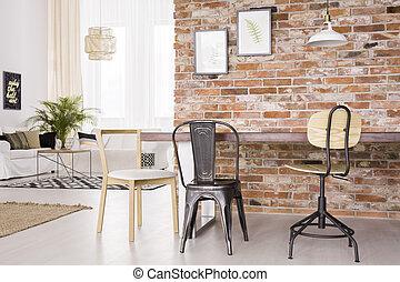 Modern design of room