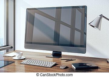 Modern designer desktop