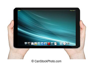 Modern digital tablet
