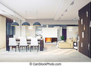 dining room interior