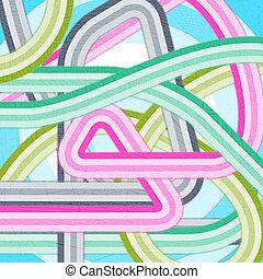 Modern Disco Grunge Background