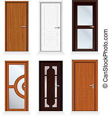 Modern Doors - Classic interior and front wooden iterior...