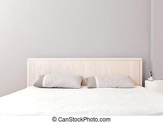 modern double bedroom