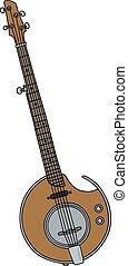 Modern electric banjo