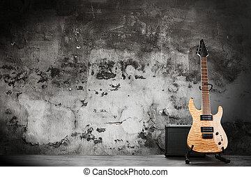 Modern electric guitar