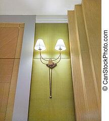 Modern electric lamp