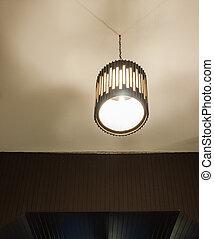 Modern electrical lantern.