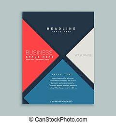 modern elegant business brochure template