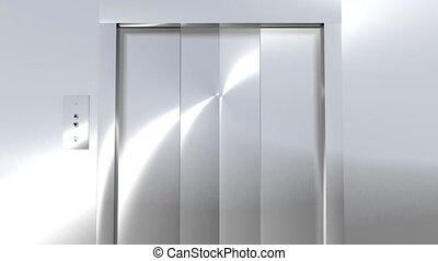 Modern Elevator to Green HD