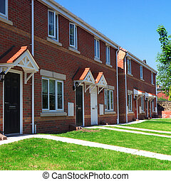 Modern english brick houses