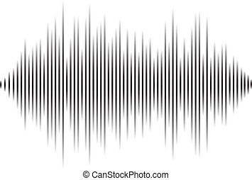 Modern equalizer. Background for music themes. Vector illustration.