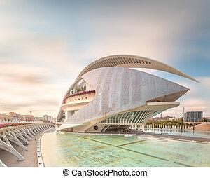 Modern european architecture, Valencia - Modern european...