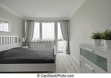 modern, fényűzés, hálószoba