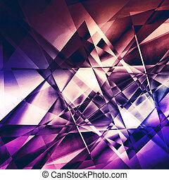 Modern facet background