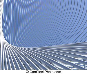 Modern fantastic architecture