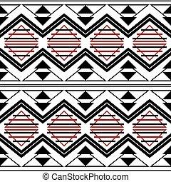 Modern fashion trendy graphic print - seamless geometric...