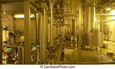 Modern filter system at large beer company