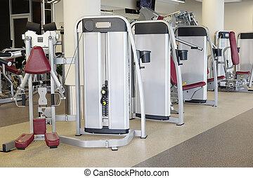 modern, fitness, halle