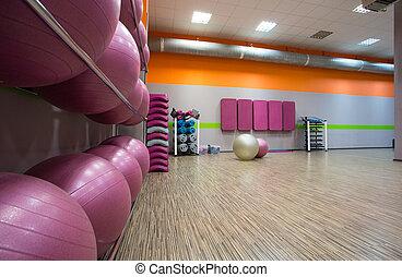 modern, fitnessstudio
