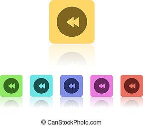 Modern Flat Icon Set
