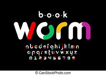 Modern font design